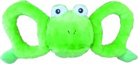 Jolly Pets tug-a-mals frog - large, 12 ea