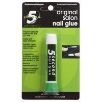 5 Second nail salon nail glue - 6 ea
