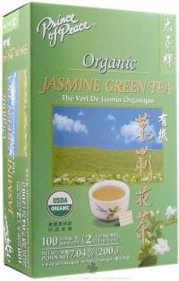 Prince of Peace Organic Jasmine Green Tea - 100 bags