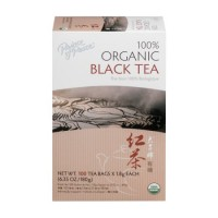 Prince of Peace 100% Organic Black Tea Bags - 100 ea