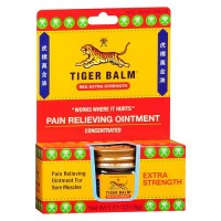 Tiger balm extra strength pain relieving ointment- 0.63 oz