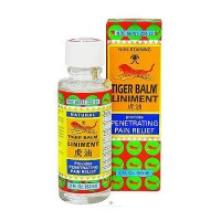 Tiger balm liniment penetrating pain relief liquid - 2 oz