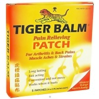 Tiger Balm Pain Relieving Patch - 5 ea, 6 pack