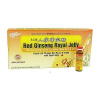 Prince of Peace Red Ginseng Royal Jelly 3.4 oz - 10 ea