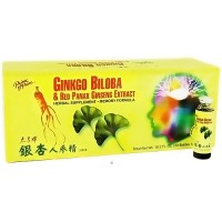 Prince of Peace Ginkgo Biloba and Red Panax Ginseng Extract - 30 ea