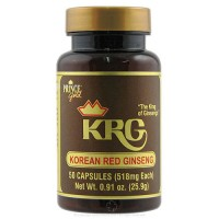Prince of Peace KRG Korean Red Ginseng 500 mg capsules - 50 ea