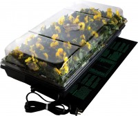 Hydrofarm Products germination station with heat mat - 11x22 inch, 12 ea