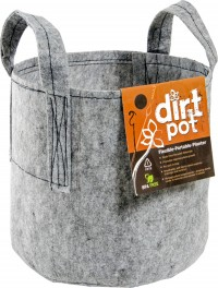 Hydrofarm Products hydrofarm dirt pot with handle - 45 gallon, 20 ea