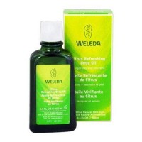 Weleda citrus refreshing body oil certified natural skin care - 3.4 oz