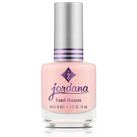 Jordana nail polish, silver glitter - 6 ea