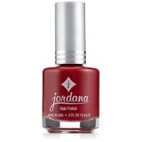 Jordana nail polish 922 fascinated with red - 6 ea