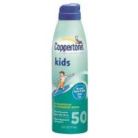 Coppertone Continuous QuickCover Kids Sunscreen Lotion Spray, SPF 50 - 6 Oz