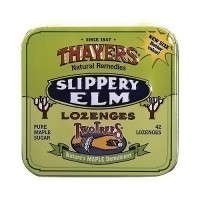 Thayers Slippery Elm Pure Maple Sugar Lozenges - 42 ea, 10 pack