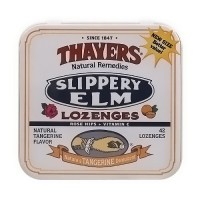 Thayers Slippery Elm Lozenges with Rose Hips and Vitamin C - 42 ea, 10 pack