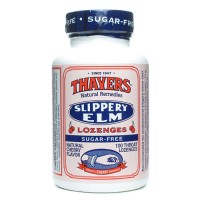 Thayer's slippery elm lozenges, sugar-free, cherry - 100 ea