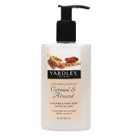 Yardley London luxurious hand soap, oatmeal and almond - 8.4 oz
