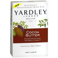 Yardley of London Bar Soap, Cocoa Butter - 4.25 oz