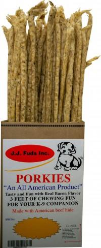 J. J. Fuds, Inc. porkies display - 36 inch, 80 ea