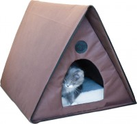 K&H Pet Products Llc outdoor heated multi-kitty a-frame - 20 inches, 6 ea