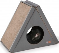 K&H Pet Products Llc creative kitty a-frame playhouse - 23x12x18, 4 ea