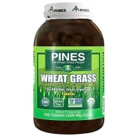 Pines Wheat Grass 500 mg Tablets - 500 ea