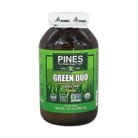 Pines Wheat Grass Green Duo Organic Superior Blend Powder - 10 oz