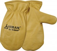 Kinco International axeman lined leather mitt - extra large, 72 ea