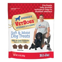 Bil-Jac bil-jac vet dog soft and moist dog treats - 10 oz, 6 ea