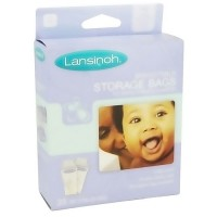 Lansinoh breast milk storage bags - 25 ea