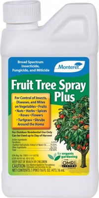 Monterey P monterey fruit tree spray plus concentrate - 16 ounce, 12 ea