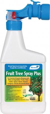 Monterey P monterey fruit tree spray plus ready to spray - 16 ounce, 12 ea