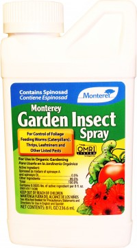 Monterey P monterey garden insect spray concentrate - 8 oz, 12 ea