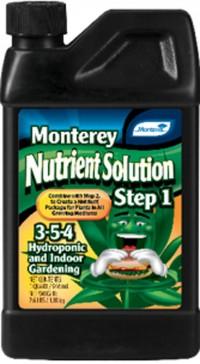 Monterey P monterey nutrient solution step 1 - 1 quart, 12 ea