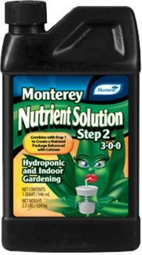 Monterey P monterey nutrient solution step 2 - quart, 12 ea