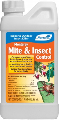 Monterey P monterey mite & insect control concentrate - pint, 6 ea