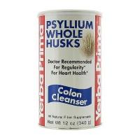 Yerba Prima Psyllium Whole Husks powder - 12 oz