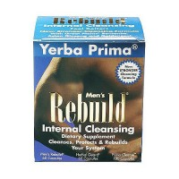 Yerba Prima Mens Rebuild internal cleansing capsules - Kit