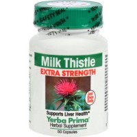 Yerba Prima Milk Thistle Extra Strength - 50 ea