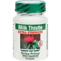 Yerba Prima Milk Thistle Extra Strength - 50 ea