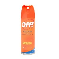 Off Active Sweat Resistant Insect Repellent Spray, Unscented - 6 Oz