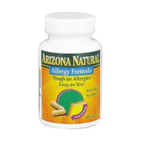 Arizona Natural Allergy Formula Capsules - 60 ea