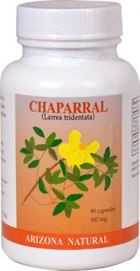 Arizona Natural chaparral (Larrea tridentata) 500mg capsules - 90 ea