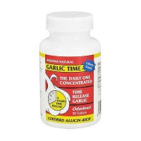 Arizona Natural garlic time oderless time release tablets- 90 ea