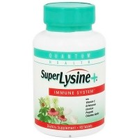 Quantum Health Super Lysine Plus Tablets, Dietary Supplement - 90 ea
