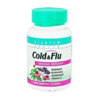 Quantum Health Cold and Flu Immune Defense Capsules - 30 ea
