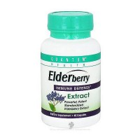 Quantum Health Elderberry Immune Defense Extract Capsules - 60 ea