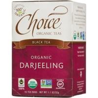 Choice organic darjeeling black tea - 16 oz, 6 pack