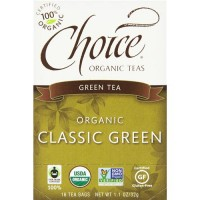 Choice organic classic green tea - 1 oz, 6 pack