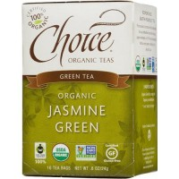 Choice Organic Jasmine Green Tea - 16 ea, 6 pack