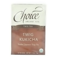 Choice Organic Teas Twig Tea - 16 bags, 6 pack